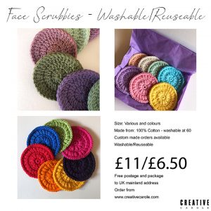 A Face scrubbies