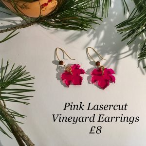 Pinkvineyard-earrings